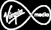 virgin media white PNG